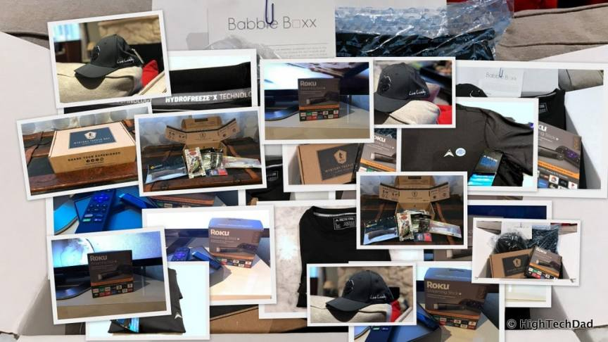 HTD Babbleboxx Gifts for Guys - collage