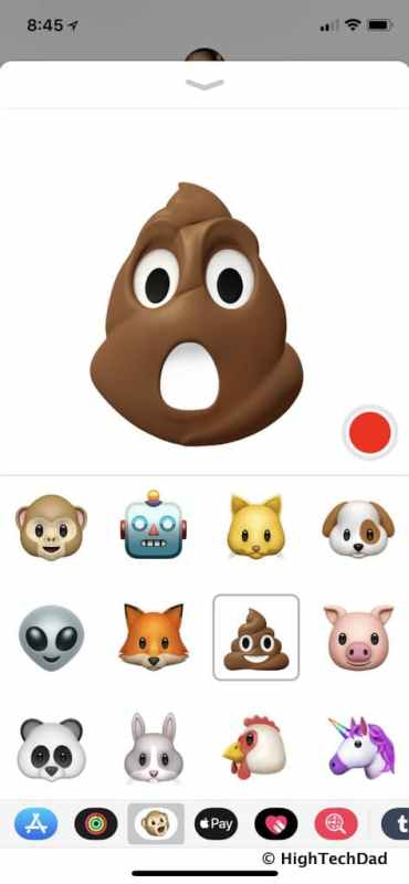HTD Apple iPhone X - Animoji
