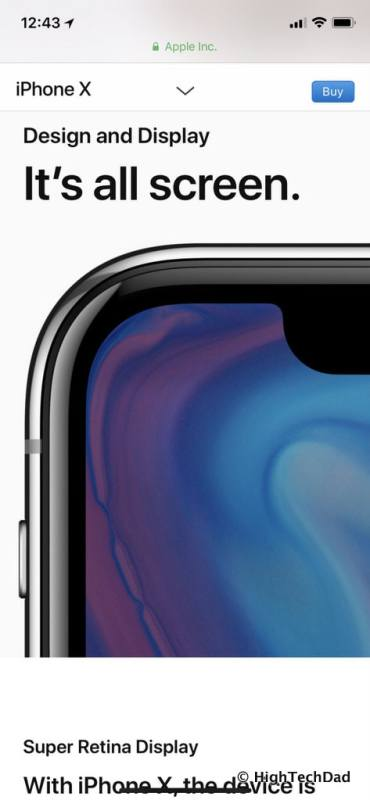 HTD Apple iPhone X - iPhone X website
