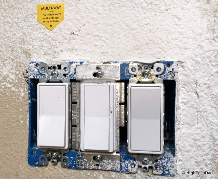 Noon Home Intelligent Switches - old switches