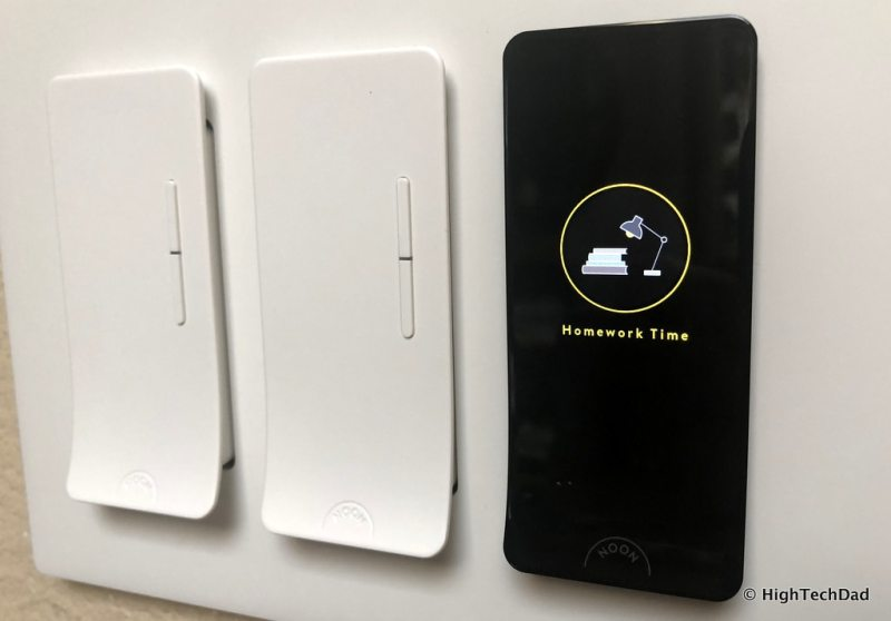 Noon Home Intelligent Switches - wall plate