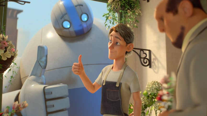 """A Giant Story"" - Short Film by Intuit - Happy Pete & Intuit Giant"