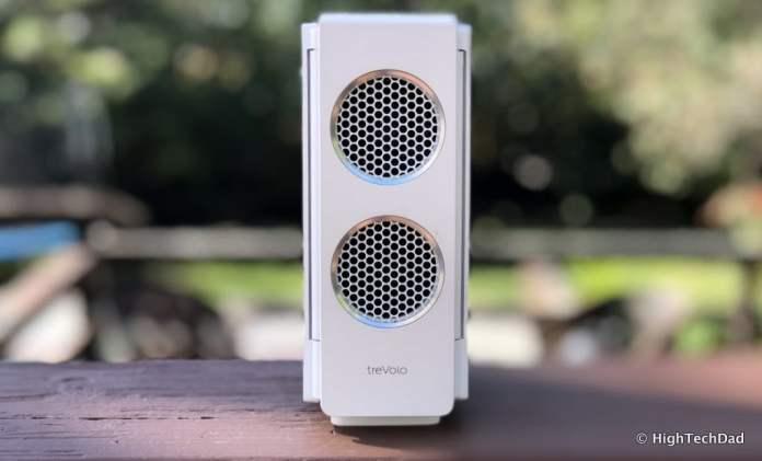 HTD BenQ treVolo S speaker review - closed