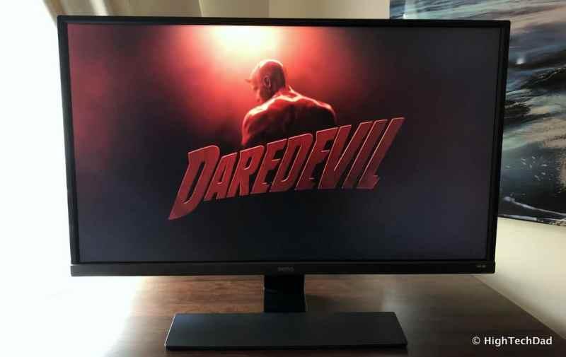 BenQ EW3270U monitor review - Netflix HDR