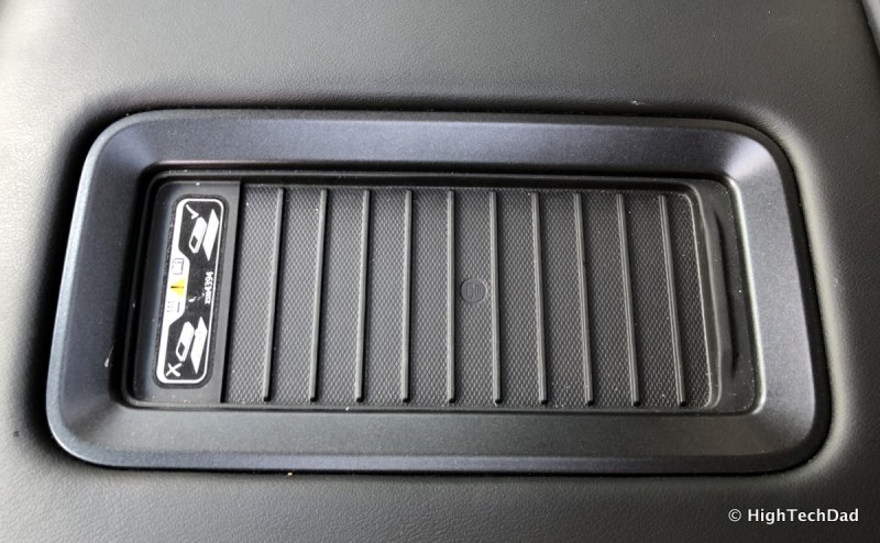 2018 Chevy Tahoe - wireless charger
