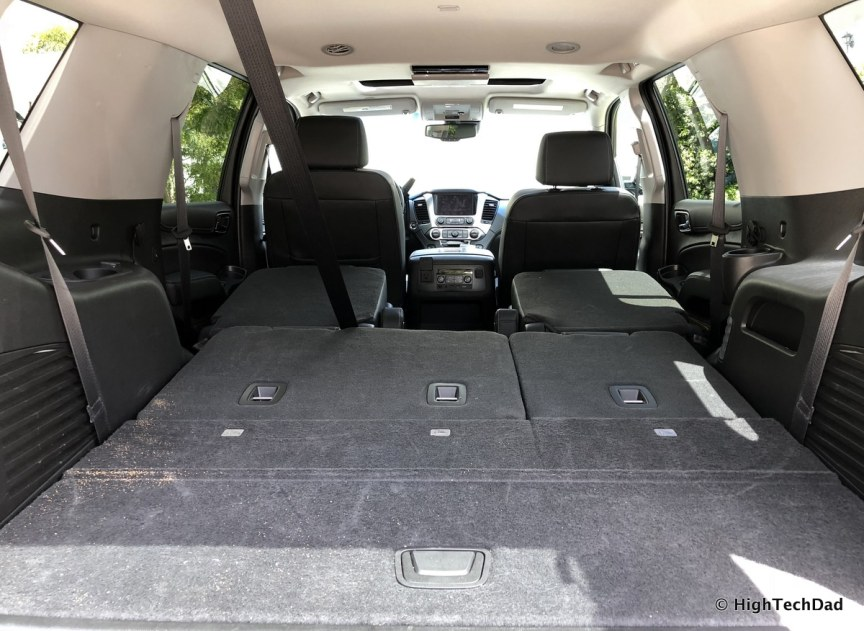 2018 Chevy Tahoe - seats folded down