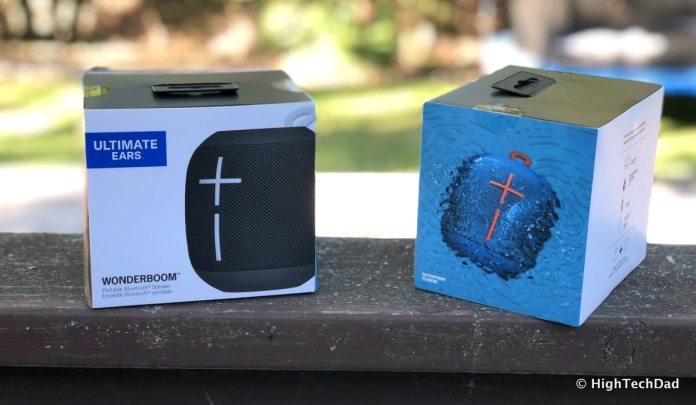 Ultimate Ears Wonderboom Bluetooth speakers review - in the box