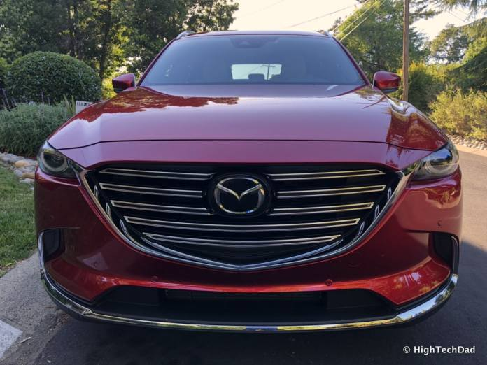 HTD 2018 Mazda CX-9 Review - front grill
