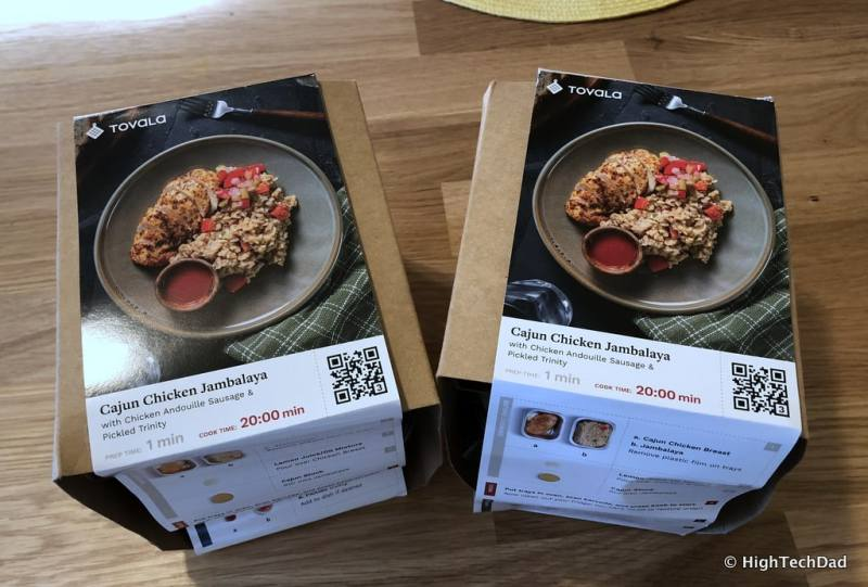 HTD Tovala Steam Oven & Meals Review - Tovala Meals