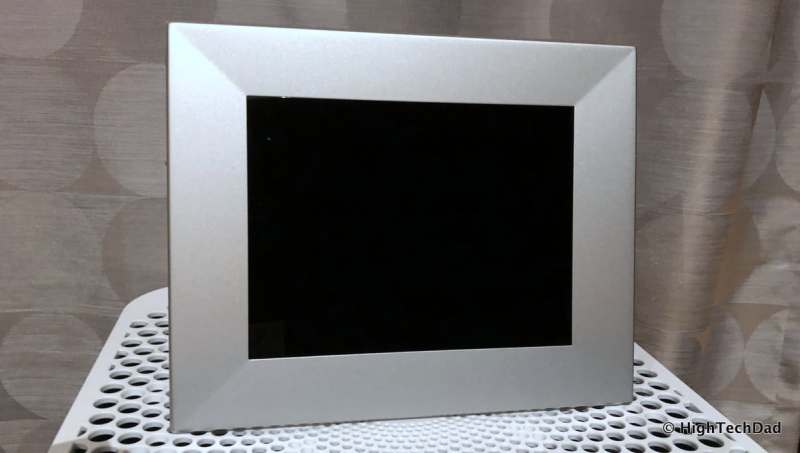 HighTechDad Nixplay Iris Digital WiFi Frame Review - frame