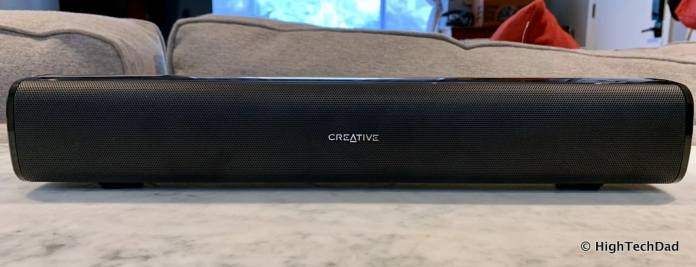 HighTechDad Creative Stage Air review - soundbar