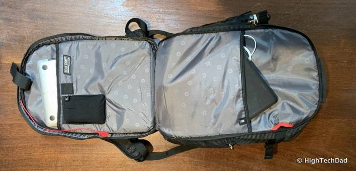 HighTechDad Swissgear 5358 USB ScanSmart Backpack Review - TSA friendly