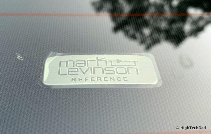 HighTechDad 2019 Lexus LS-500h review - Mark Levinson audio (plastic still on)