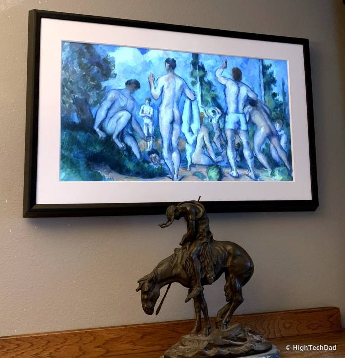 HighTechDad Meural Canvas Review - Meural Canvas