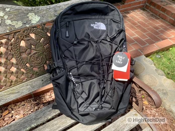 HighTechDad Backpacks.com The North Face Borealis backpack review - backpack unstuffed