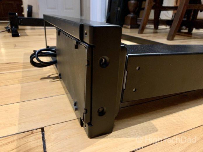 HighTechDad review of Autonomous Smart Desk 2 sit-stand desk - solid construction