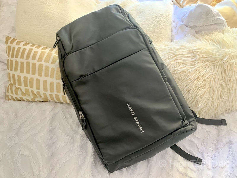 HighTechDad Reviews Nayo Almighty backpack - front side