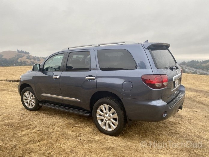 HighTechDad, Toyota Season of Giving & the 2019 Toyota Sequoia - front side view