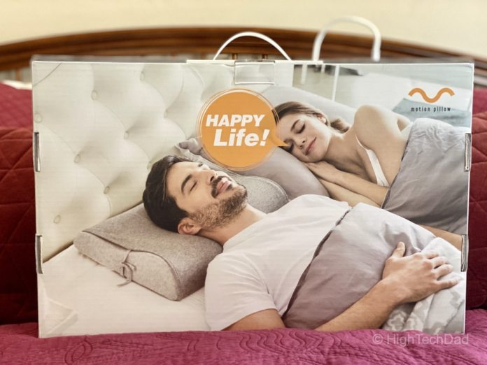 Get a good sleep without snoring from The Motion Pillow