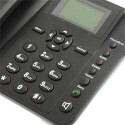 Téléphone fixe GSM grosses touches