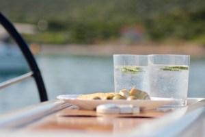 Dinner Croatia charter Landin Konoba
