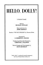 Hello Dolly Program p002