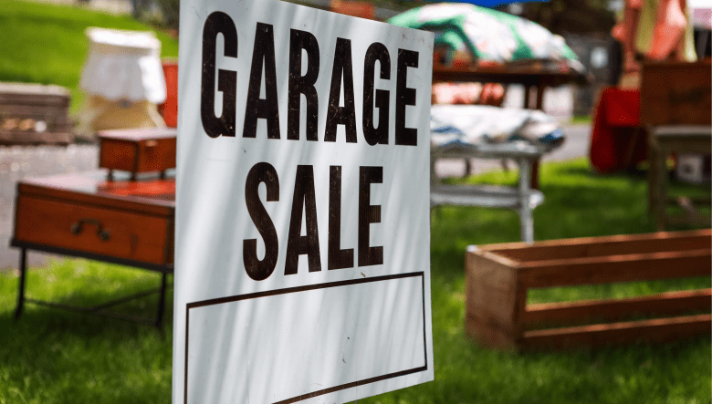What All You Can Put on Garage Sale Before Moving