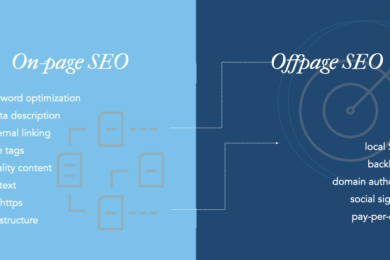 On-page and Off-page SEO. What's the Difference?