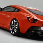 Red Color 2011 Aston Martin V12 Zagato Back Pose Hd Wallpaper