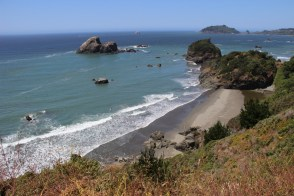 Coastal views at its finest along the Scenic Drive around Trinidad, CA