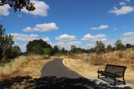 Cruising out of Eugene, OR, along the North Bank Trail