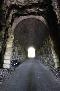 Through the Rocheport Tunnel