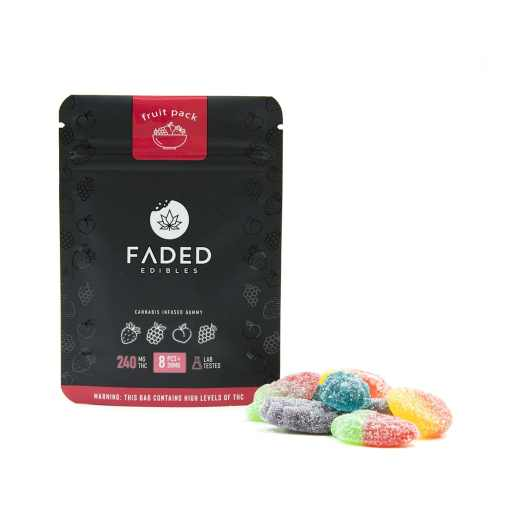 Faded Edibles Fruit Pack (240mg THC)