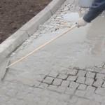 Spoinowanie kostki granitowej