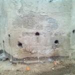 Wypełnianie otworów iniekcyjnych zaprawą cementową