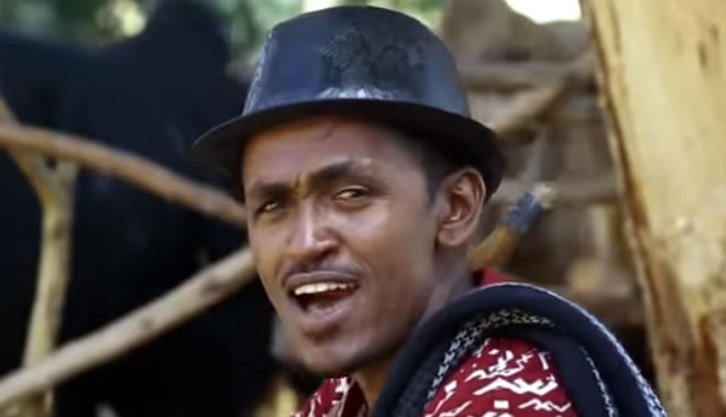 Ethiopian singer Hachalu Hundessa was shot dead on Monday night in Addis Ababa. Photo: YouTube Video/Oromp3