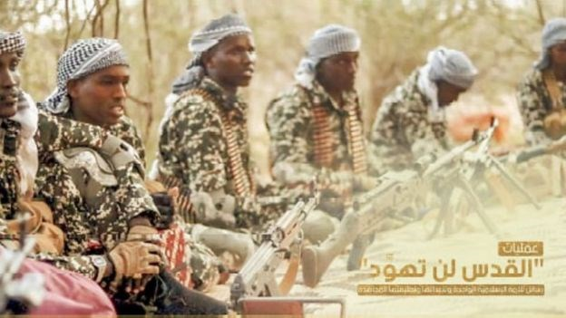 Al-Shabab has been waging a brutal insurgency in Somalia for more than a decade.AL-QAEDA PROPAGANDA