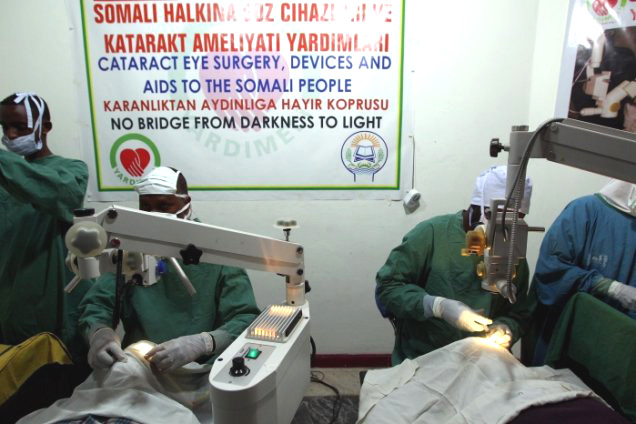 Giriyaadnews/200,000 Somalis treated at Turkish hospitals in Mogadishu