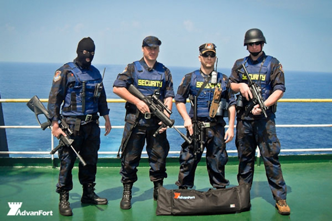 Private Security Ships