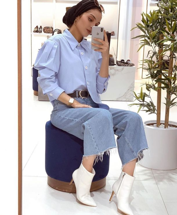Summer Style Outfit Ideas Hijab With Jeans