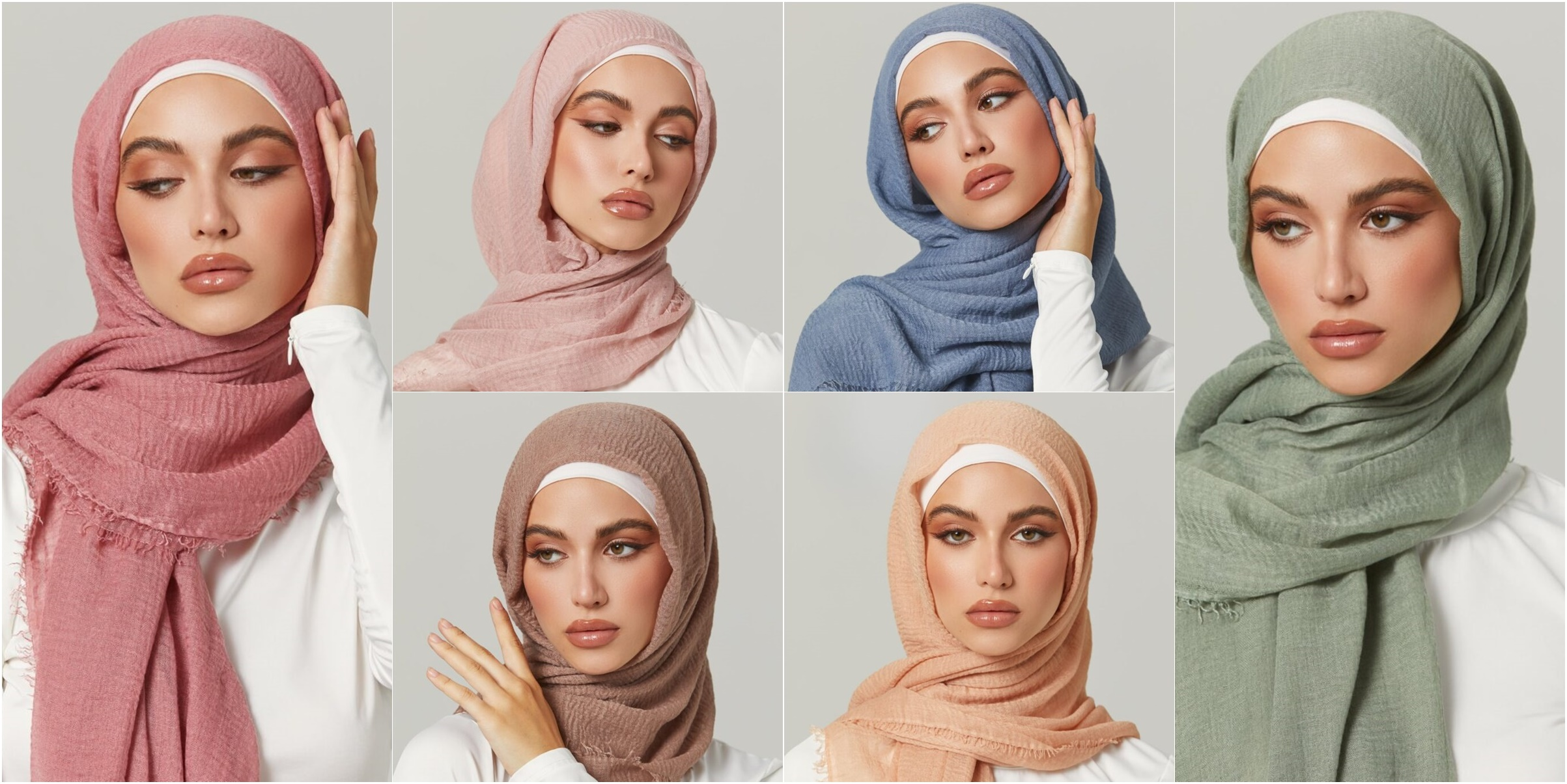 Tag us @zahraathelabel for a chance to be featured on our instagram. Cotton Crinkle Hijabs By Zahra The Label Hijab Fashion Inspiration