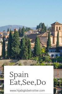 Spain Itinerary: Pinterest