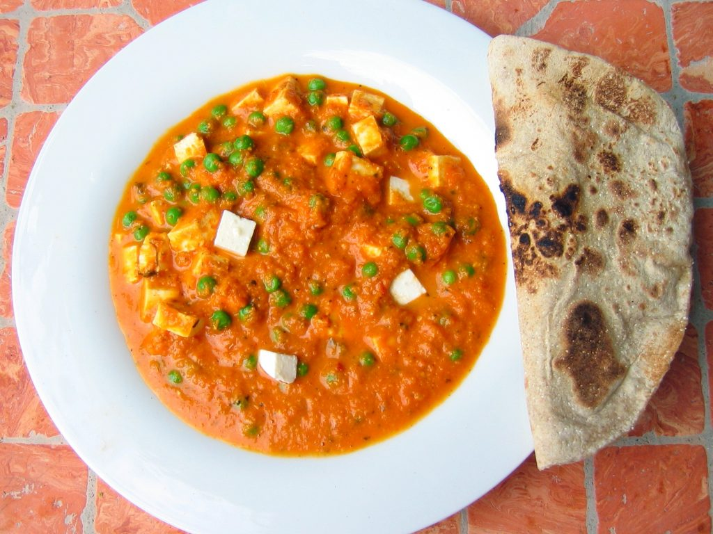 Halal Food in Italy: Vegetable Chapati