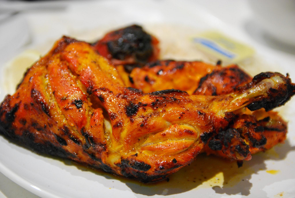Halal Food in Italy: Tandoori Chicken