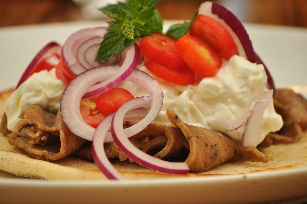 Halal Food in Italy: Gyro