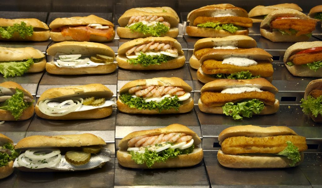 Halal Restaurants in Barcelona- Sandwiches