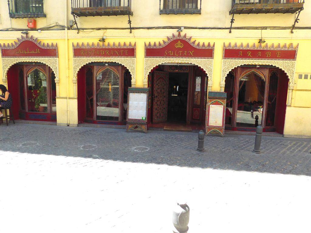 Restaurante Sultan Arabe
