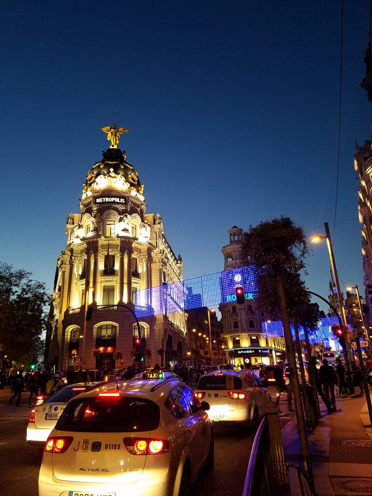 Halal Guide in Madrid- Gran Via