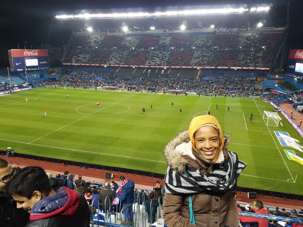 Halal Guide in Madrid- Atletico