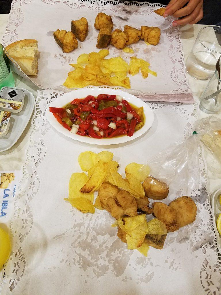 3 day guide to Seville Version halal- Freiduria la isla